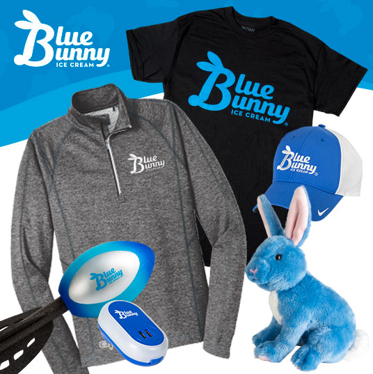 Blue Bunny Apparel & Promotional Items