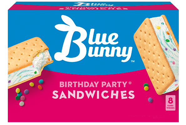 Blue Bunny Birthday Cake Mini Cones Image Inspiration of Cake and