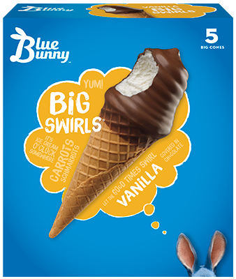 Vanilla Big Swirls®