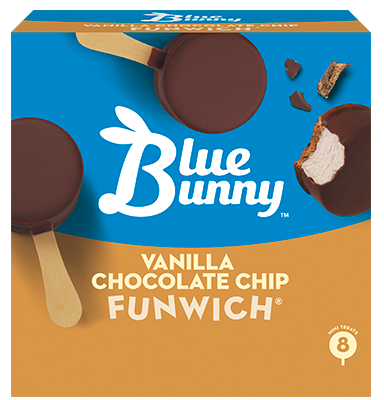 Vanilla Chocolate Chip Funwich®