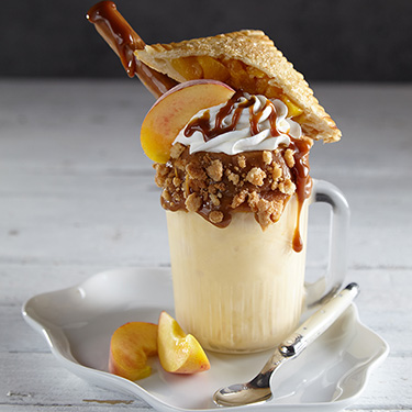 Savannah Peach Pie Shake